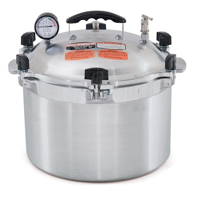 Autoclave A Vapor Olla All American 1915X.