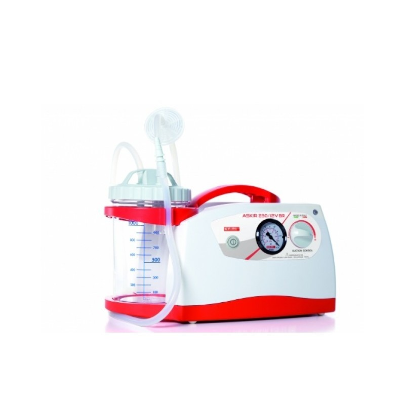 Succionador Portatil 1000 mL Ca-mi New Askir 230/12V BR.